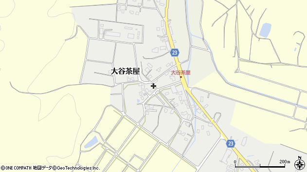 〒682-0948 鳥取県倉吉市大谷茶屋の地図