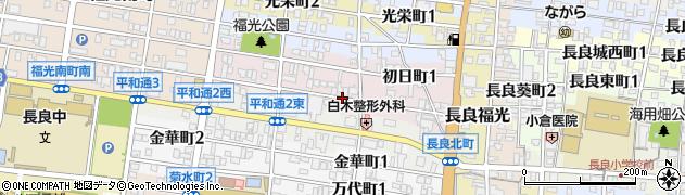 岐阜県岐阜市楠町周辺の地図