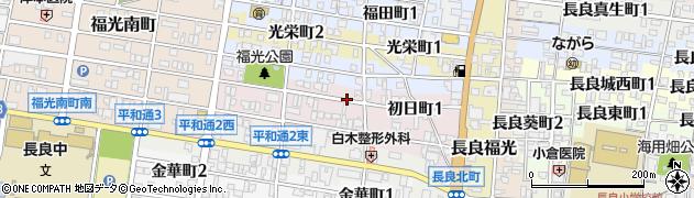 岐阜県岐阜市初日町周辺の地図