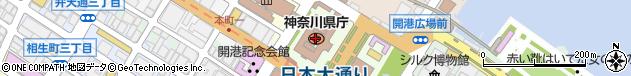神奈川県周辺の地図