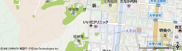 京都府舞鶴市紺屋周辺の地図