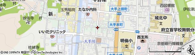 京都府舞鶴市本周辺の地図