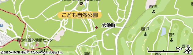 神奈川県横浜市旭区大池町周辺の地図