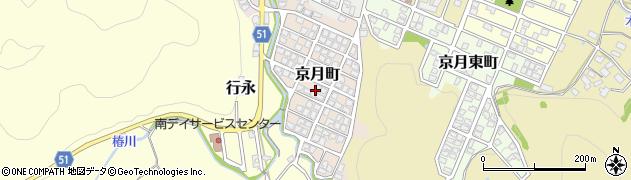 京都府舞鶴市京月町周辺の地図