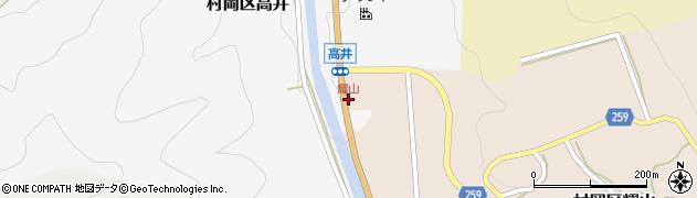 耀山周辺の地図