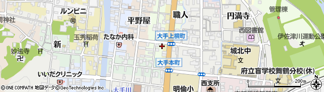 京都府舞鶴市丹波周辺の地図