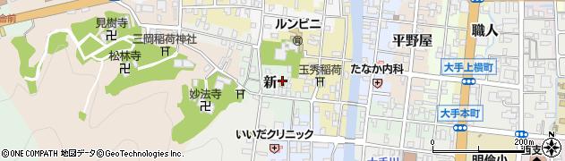 京都府舞鶴市新周辺の地図