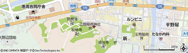 京都府舞鶴市西周辺の地図