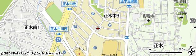 岐阜県岐阜市正木中周辺の地図