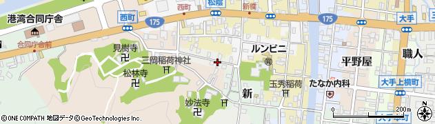京都府舞鶴市宮津口8周辺の地図