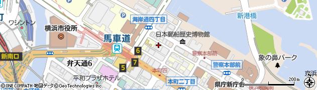 神奈川県横浜市中区元浜町4丁目の地図 住所一覧検索 地図マピオン