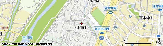 岐阜県岐阜市正木南周辺の地図