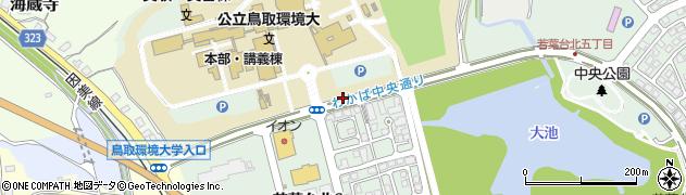 鳥取県鳥取市若葉台北周辺の地図
