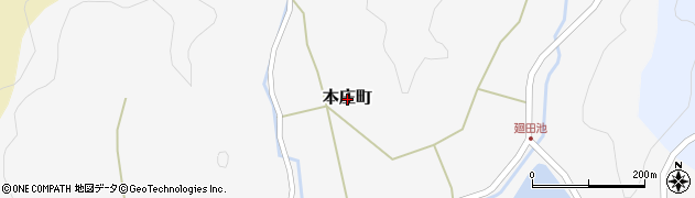 島根県出雲市本庄町周辺の地図