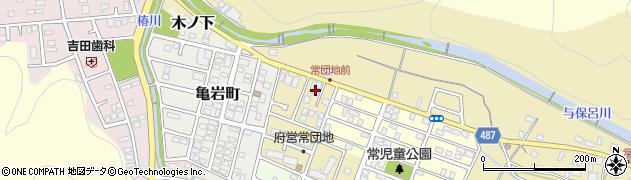 京都府舞鶴市常周辺の地図