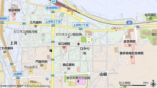 〒682-0022 鳥取県倉吉市上井町の地図