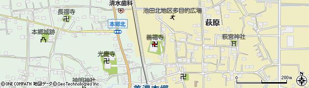善福寺周辺の地図