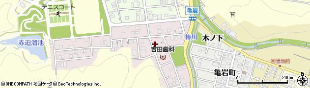 京都府舞鶴市八反田南町周辺の地図