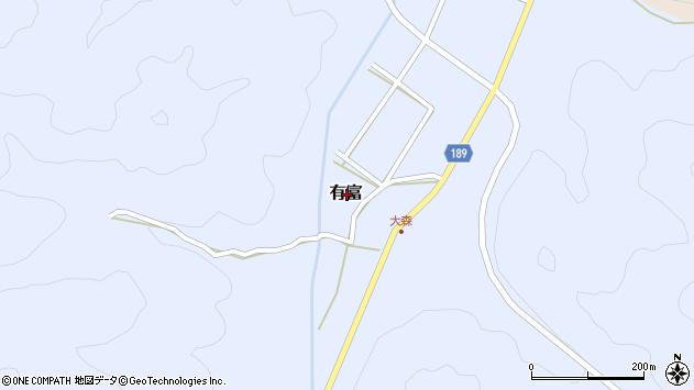 〒680-1176 鳥取県鳥取市有富の地図