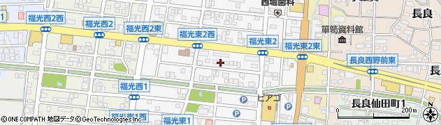 岐阜県岐阜市福光東周辺の地図