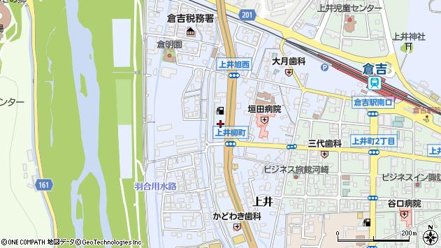 〒682-0021 鳥取県倉吉市上井の地図