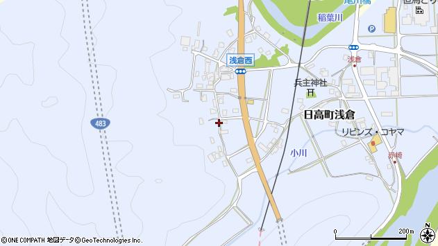 〒669-5315 兵庫県豊岡市日高町浅倉の地図