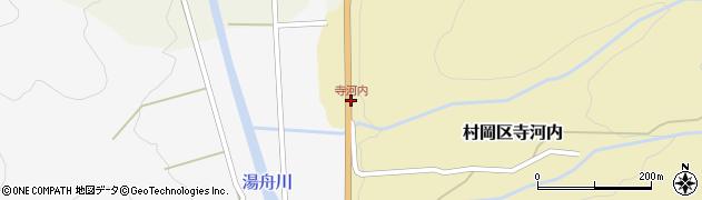 寺河内周辺の地図