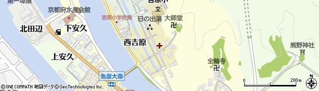 京都府舞鶴市西吉原周辺の地図