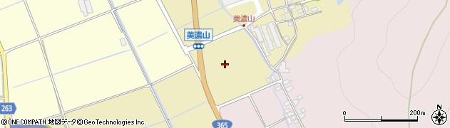 滋賀県長浜市小谷美濃山町周辺の地図