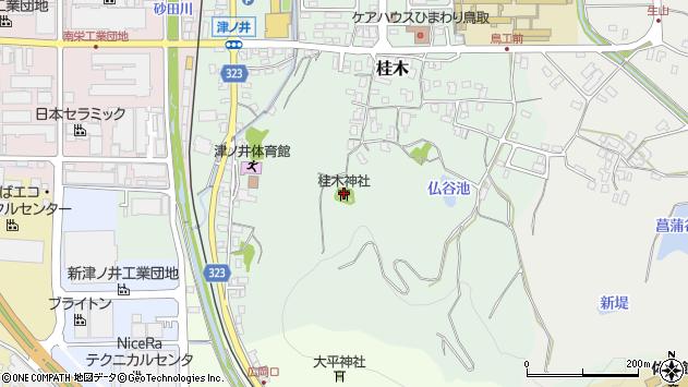 〒689-1104 鳥取県鳥取市桂木の地図
