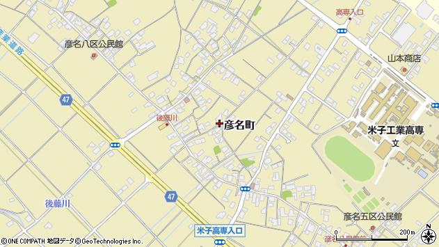 〒683-0854 鳥取県米子市彦名町の地図