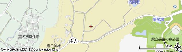 千葉県茂原市庄吉周辺の地図