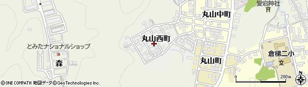 京都府舞鶴市丸山西町周辺の地図