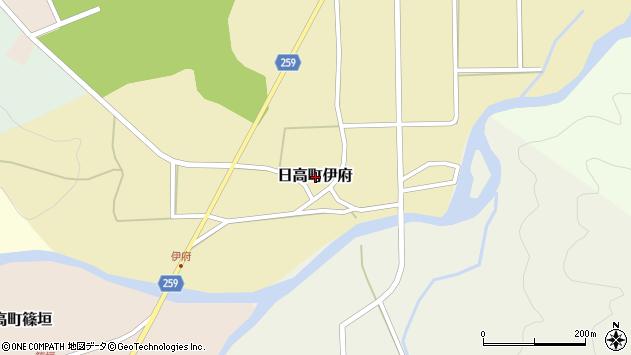 〒669-5346 兵庫県豊岡市日高町伊府の地図