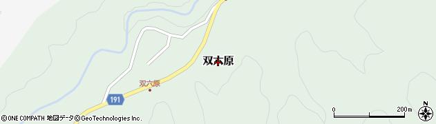 鳥取県鳥取市双六原周辺の地図