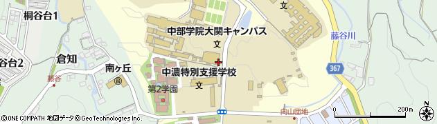 岐阜県関市桐ケ丘周辺の地図