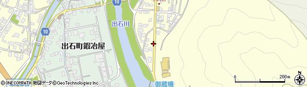 兵庫県豊岡市出石町小人周辺の地図