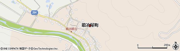 滋賀県長浜市鍛冶屋町周辺の地図