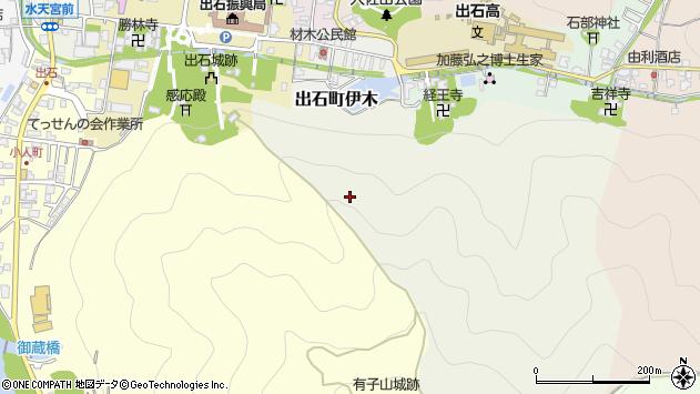 〒668-0213 兵庫県豊岡市出石町伊木の地図