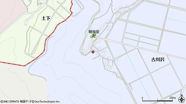 〒682-0004 鳥取県倉吉市古川沢の地図