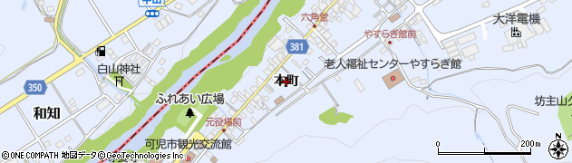 岐阜県可児市兼山周辺の地図