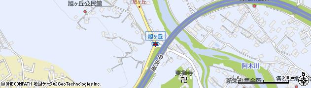 旭ケ丘周辺の地図