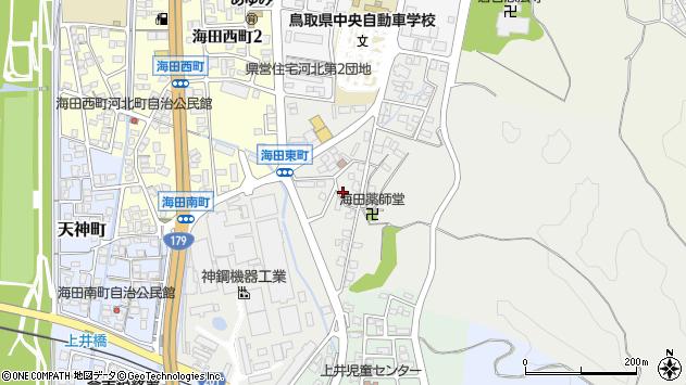 〒682-0014 鳥取県倉吉市海田東町の地図
