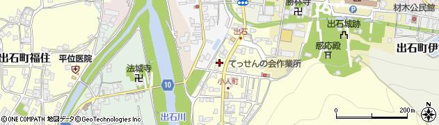 おうち周辺の地図