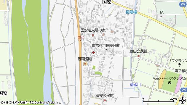 〒680-1132 鳥取県鳥取市国安の地図
