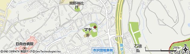 長見寺周辺の地図