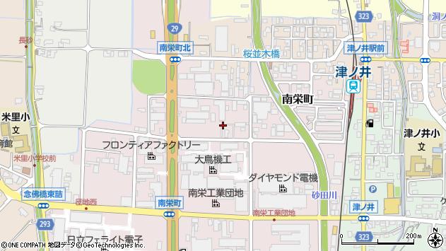 〒689-1121 鳥取県鳥取市南栄町の地図