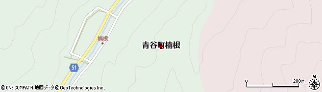 鳥取県鳥取市青谷町楠根周辺の地図