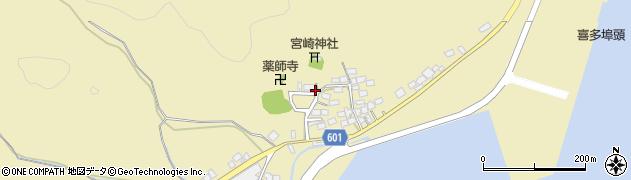 京都府舞鶴市喜多周辺の地図