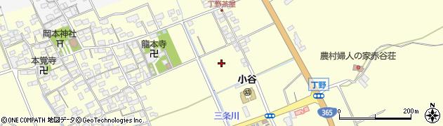 滋賀県長浜市小谷丁野町周辺の地図